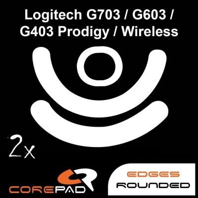 Corepad Skatez Logitech G703 Lightspeed / G603 Lightspeed / G403 HERO / G403 Prodigy / G403 Prodigy Wireless