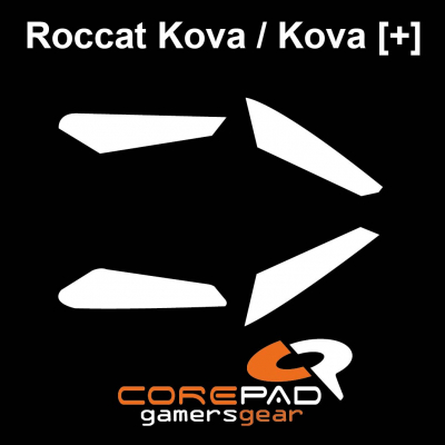 Corepad Skatez Roccat Nyth Replacement Teflon® mouse feet Hyperglides Hyperglide