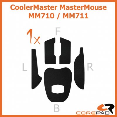 Corepad Grips Cooler Master MasterMouse MM710 / MasterMouse MM711