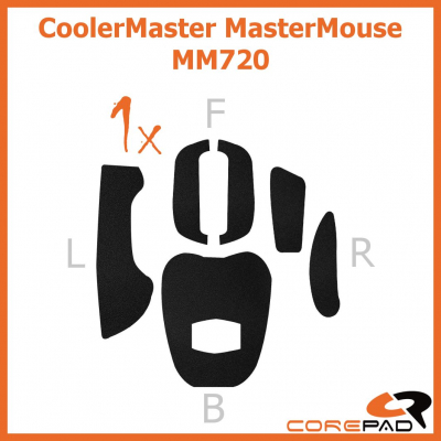 Corepad Grips Cooler Master MasterMouse MM720 (Spawn Refresh / Xornet Refresh)