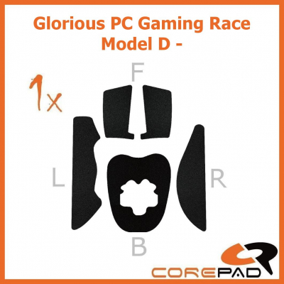 Corepad Grips Glorious PC Gaming Race Model D - Minus