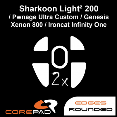 Corepad Skatez Sharkoon Light ² 200 / Pwnage Ultra Custom / Genesis Xenon 800 / Ironcat Infinity One / Xenics Titan G Air