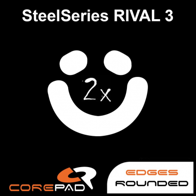 Corepad Skatez SteelSeries Kinzu v2 Pro v3 Kana v2 Replacement Teflon mouse feet