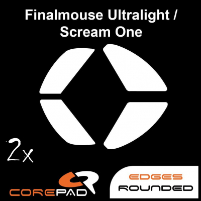 Corepad Skatez PRO 132 Mouse-Feet FinalMouse Ultralight Pro / Ultralight Sunset / Scream One / Tournament Pro