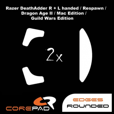 Corepad Skatez Razer Death Adder right & left handed / Re-Spawn /2013 / Chroma