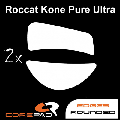 Corepad Skatez Roccat Kone Pure 2017 Replacement Teflon® mouse feet Hyperglides