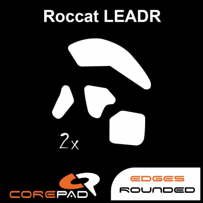 Corepad Skatez Roccat Nyth Replacement Teflon® mouse feet Hyperglides Hyperglide