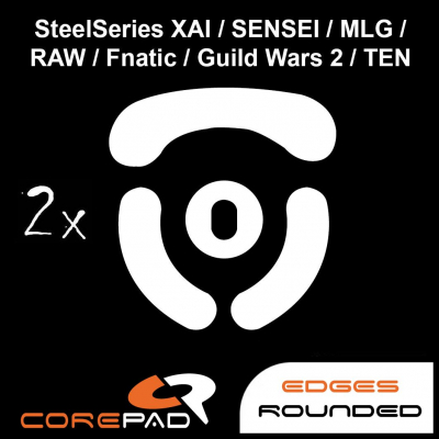 Corepad Skatez SteelSeries XAI / Sensei / Sensei Ten / MLG / RAW / Fnatic / Guild Wars 2