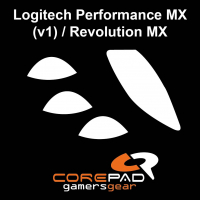Corepad Skatez PRO  28 Mouse-Feet Logitech Performance MX (v1) / Revolution MX